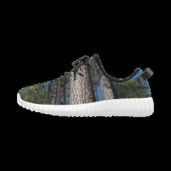 Tall Pine Trees Mt Lemmon Arizona Grus Men's Breathable Woven Running Shoes (Model 022)