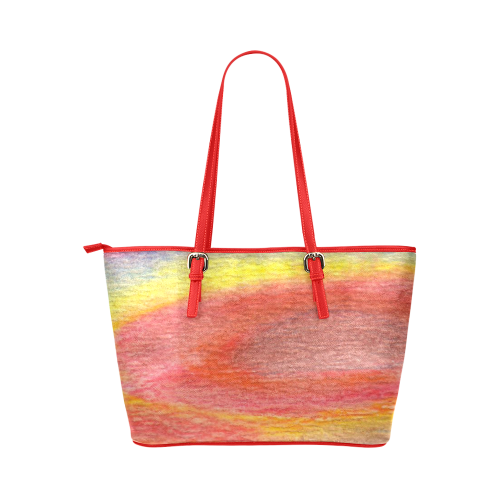 Chromatic Leather Tote Bag/Large (Model 1651)