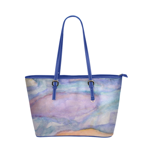 Emblazon Leather Tote Bag/Large (Model 1651)