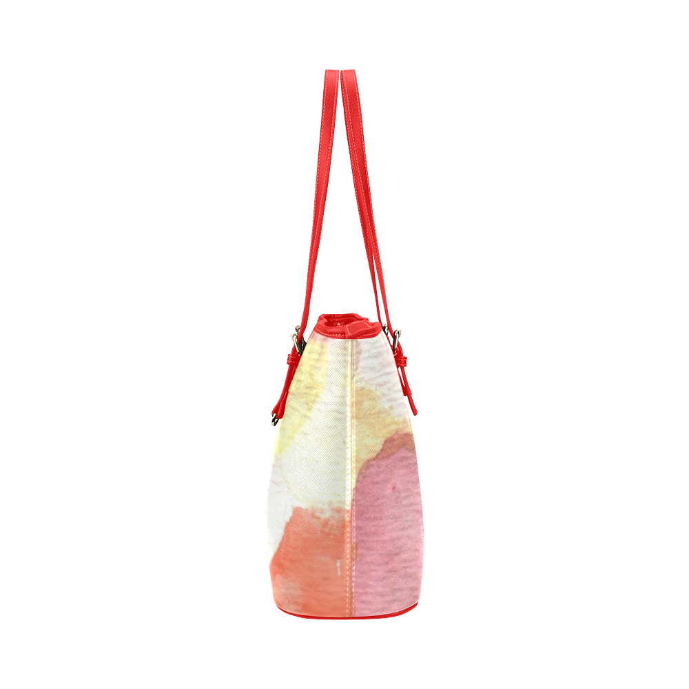 Colour Expression Leather Tote Bag/Large (Model 1651)