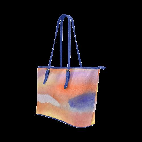 Emblazon II Leather Tote Bag/Large (Model 1651)