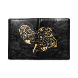 Wonderful gold, black elephant Custom NoteBook B5