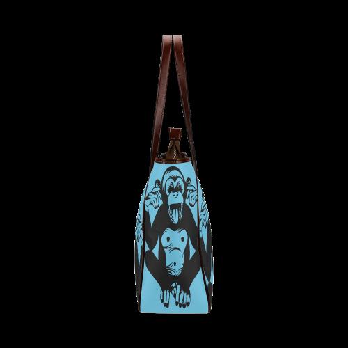 Monkey-Baby Classic Tote Bag (Model 1644)