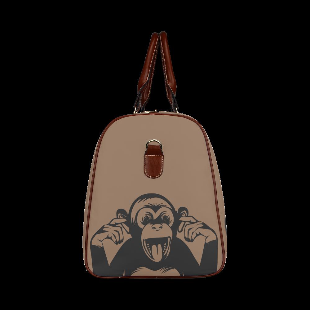 Monkey-Baby Waterproof Travel Bag/Large (Model 1639)