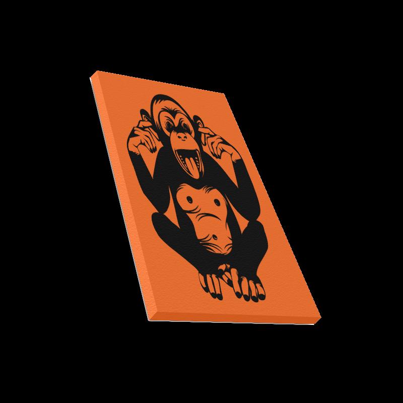 """Monkey-Baby Canvas Print 16""""x20"""""""