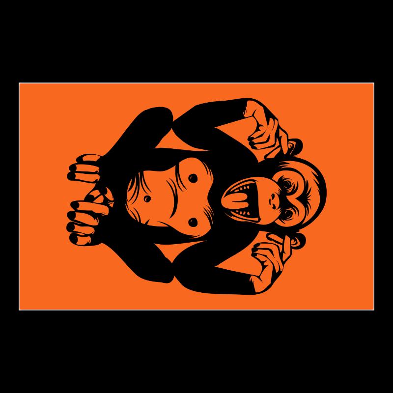 "Monkey-Baby Poster 23""x36"""
