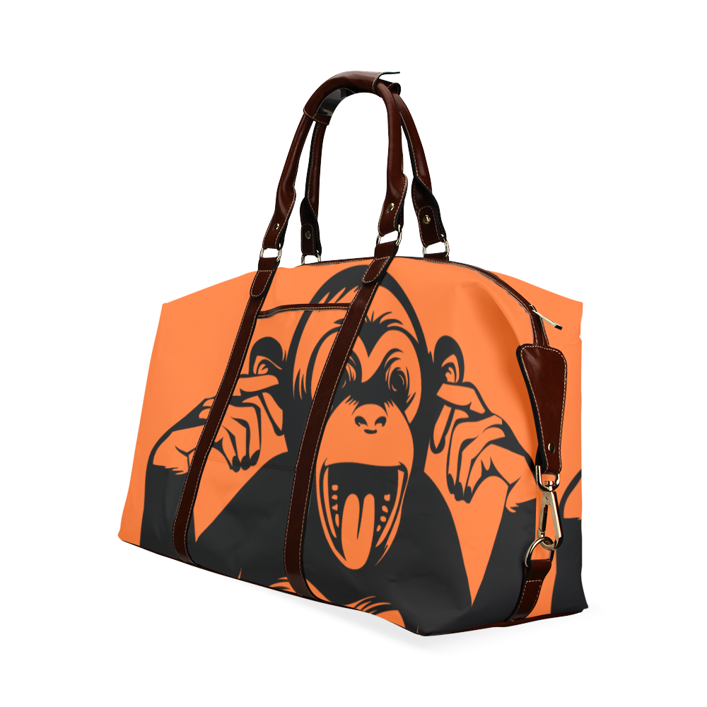 Monkey-Baby Classic Travel Bag (Model 1643)