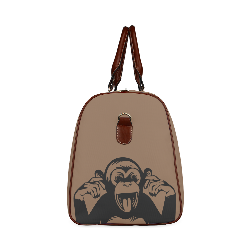 Monkey-Baby Waterproof Travel Bag/Small (Model 1639)