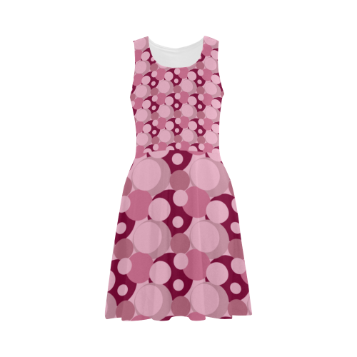 Pink Bubble Pop Atalanta Sundress (Model D04)