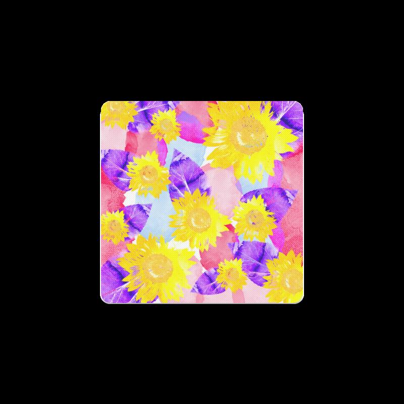 Sunflower Square Coaster