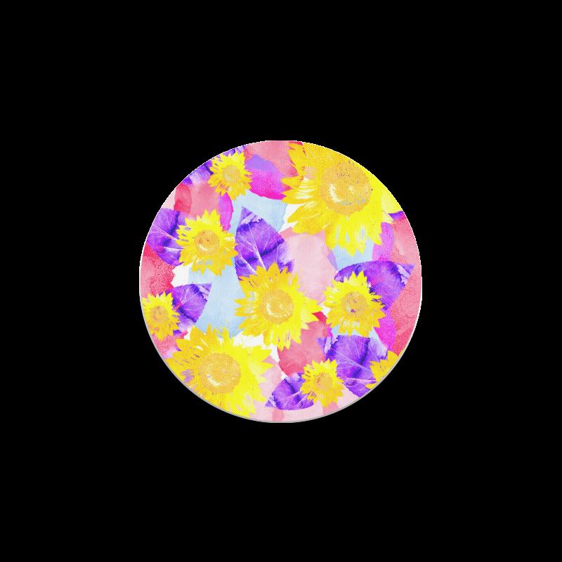 Sunflower Round Coaster