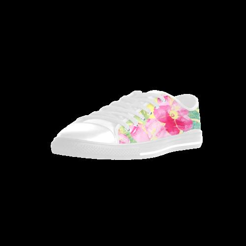 Tropical Dream Aquila Microfiber Leather Women's Shoes (Model 028)