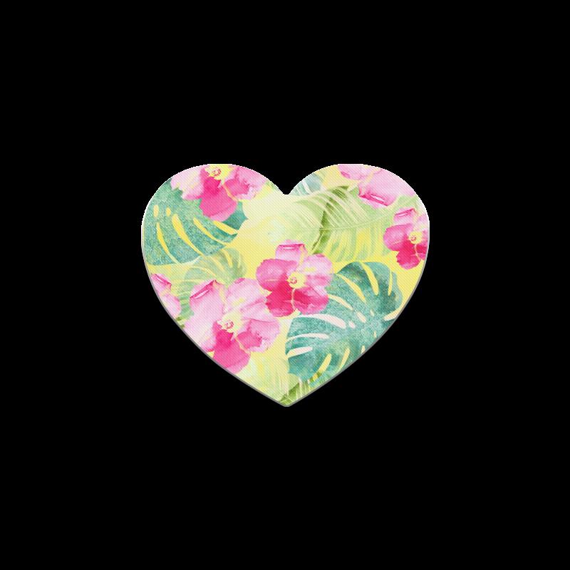Tropical Dream Heart Coaster