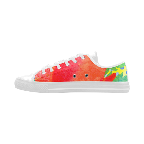 Poppy and Dots Aquila Microfiber Leather Women's Shoes (Model 028)