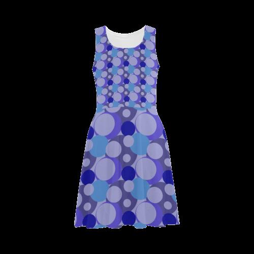 Blue Bubble Pop Atalanta Sundress (Model D04)