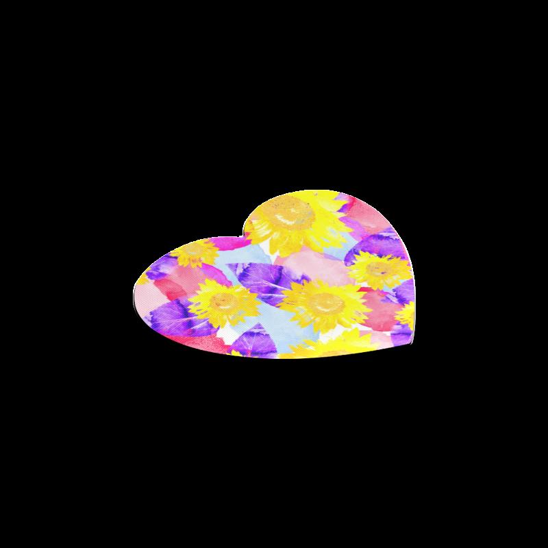 Sunflower Heart Coaster