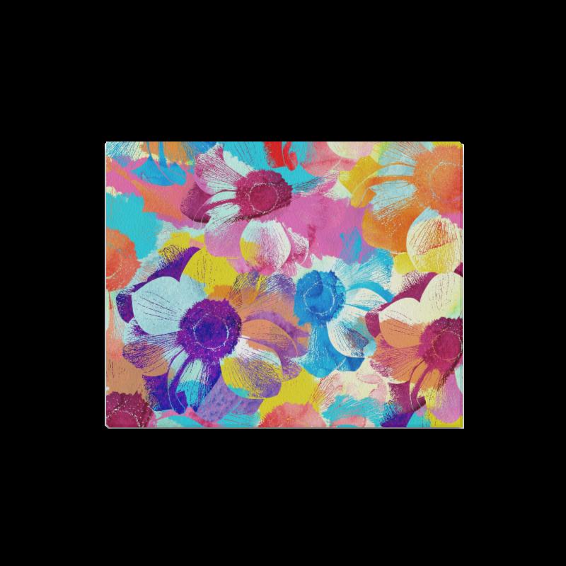"Anemones Flower Canvas Print 16""x20"""