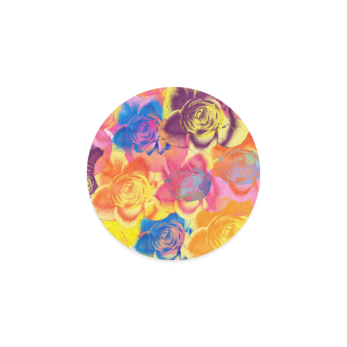 Roses Round Coaster