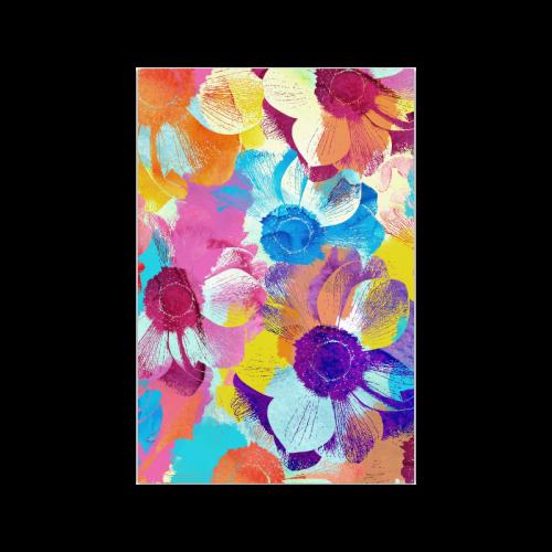 "Anemones Flower Poster 20""x30"""