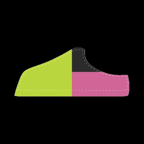 Retro Style Women's Chukka Canvas Shoes (Model 003)