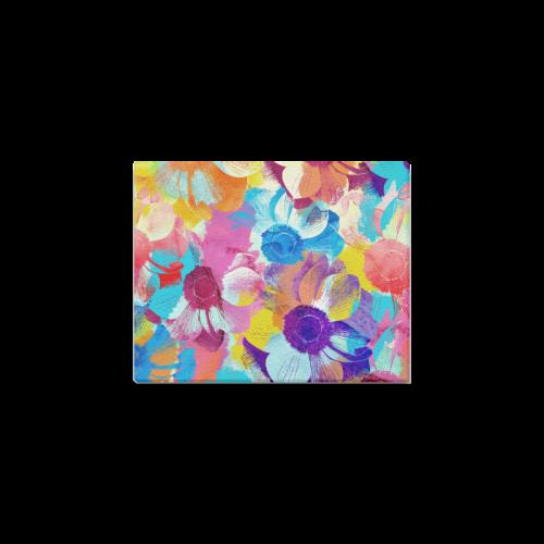 "Anemones Flower Canvas Print 10""x8"""