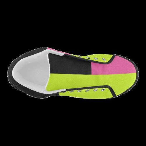 Retro Style Men's Chukka Canvas Shoes (Model 003)