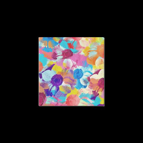 "Anemones Flower Canvas Print 6""x4"""