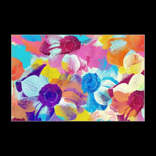 "Anemones Flower Poster 22""x34"""