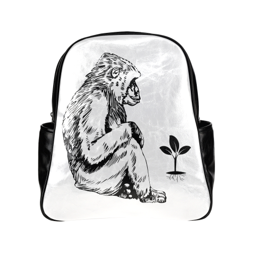 Knowledge Multi-Pockets Backpack (Model 1636)