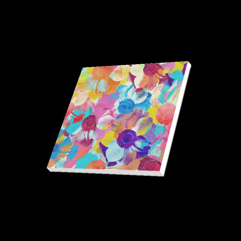 "Anemones Flower Canvas Print 16""x16"""