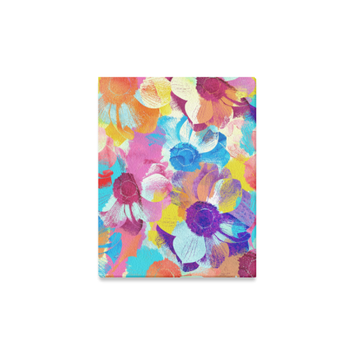 "Anemones Flower Canvas Print 11""x14"""