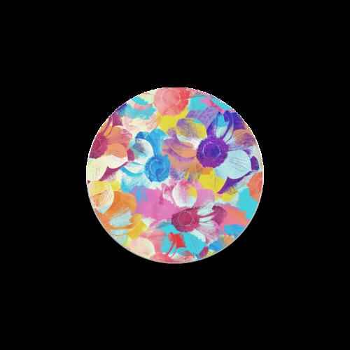 Anemones Flower Round Coaster