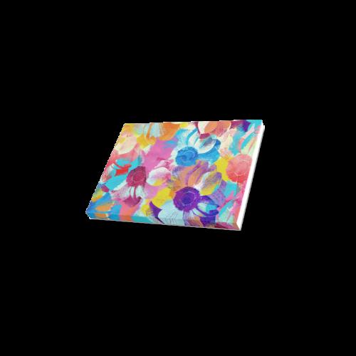 "Anemones Flower Canvas Print 7""x5"""