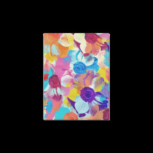 "Anemones Flower Canvas Print 12""x16"""