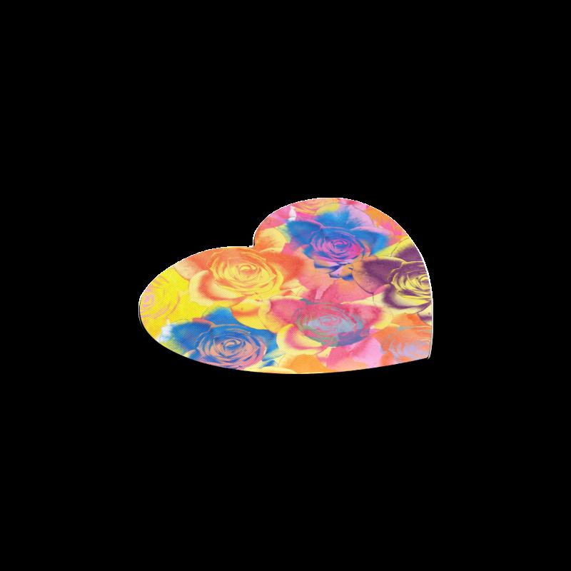 Roses Heart Coaster