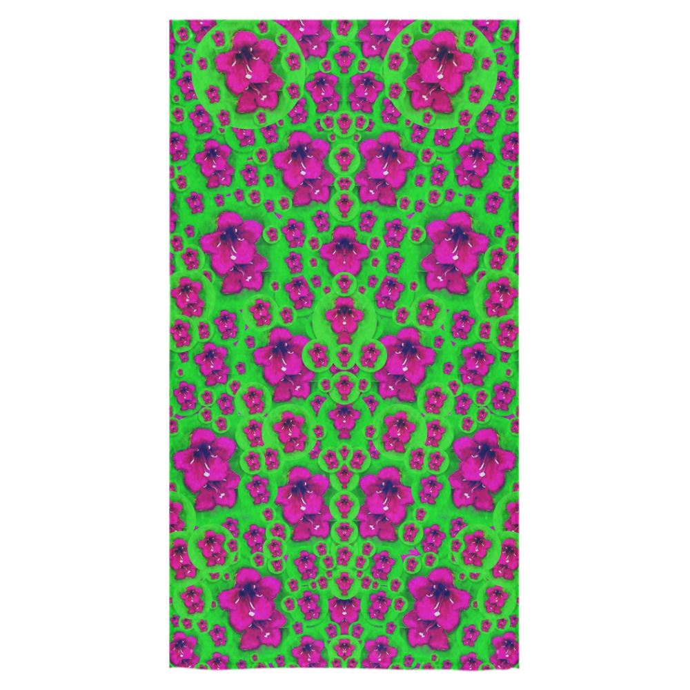 "Fantasy Valentine in floral love and peace time Bath Towel 30""x56"""