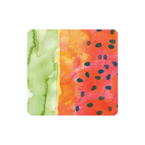 Abstract Watermelon Women's Clutch Wallet (Model 1637)