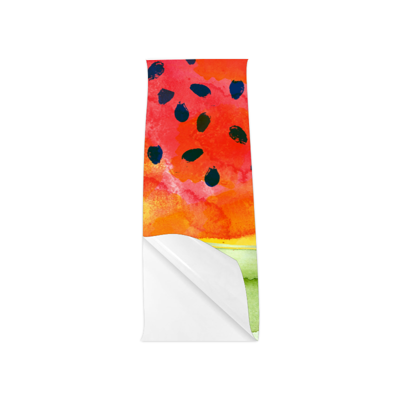 """Abstract Watermelon Poster 12""""x36"""""""