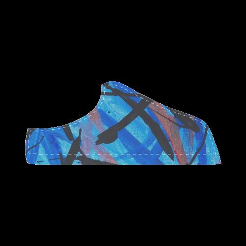 Ocean Dance Women's Chukka Canvas Shoes (Model 003)