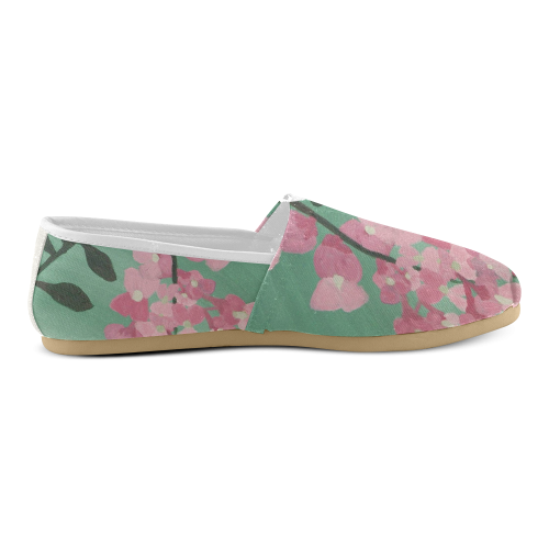 Pink Robinia Unisex Casual Shoes (Model 004)