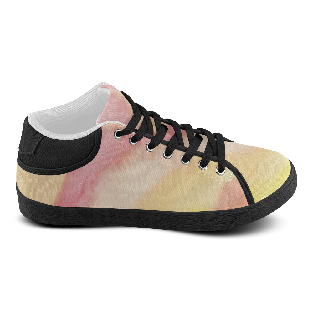 Fire Ocean Women's Chukka Canvas Shoes (Model 003)