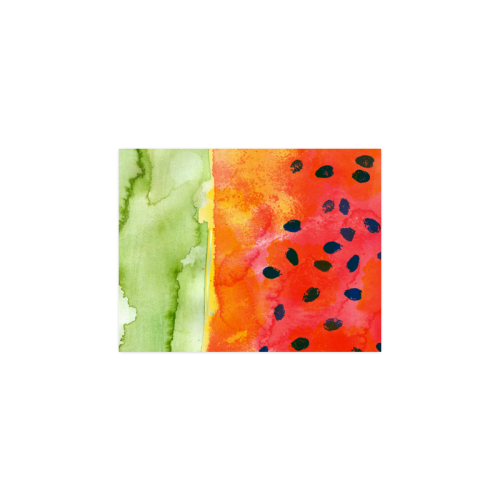 "Abstract Watermelon Poster 11""x8.5"""