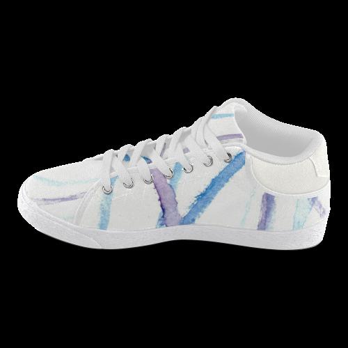 Lines Women's Chukka Canvas Shoes (Model 003)