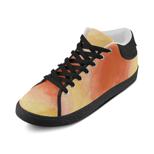 Poppy Paradise Women's Chukka Canvas Shoes (Model 003)