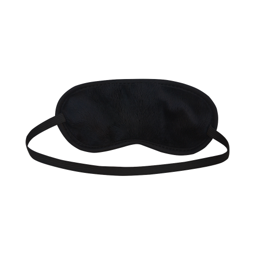 Funny parrot, tropical design Sleeping Mask