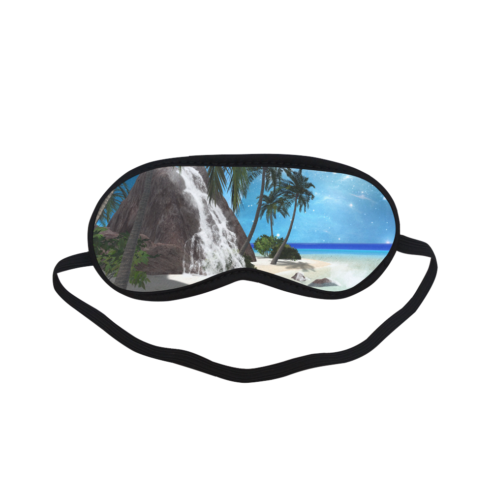 Seascape in the night Sleeping Mask