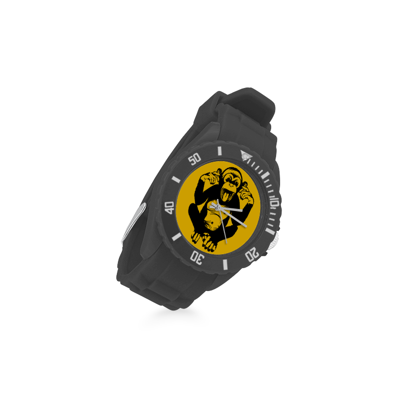 Monkey Baby Sport Rubber Strap Watch(Model 301)