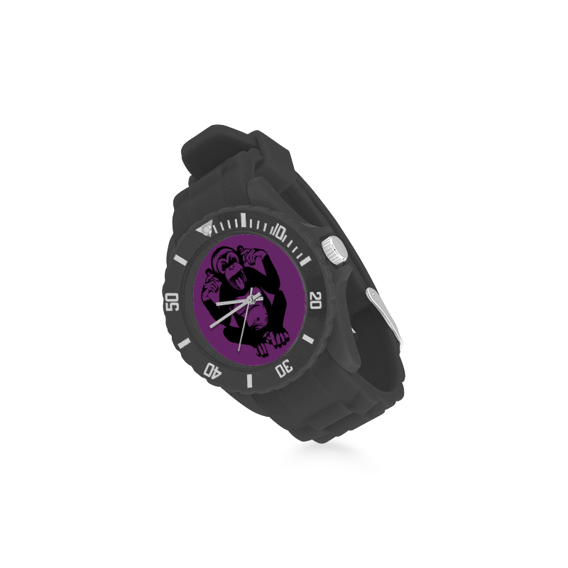 Monkey Baby Sport Rubber Strap Watch(Model 301)