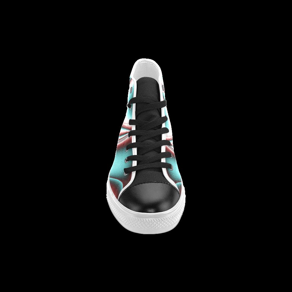 Blast-o-Blob #2 - Jera Nour Men's Classic High Top Canvas Shoes (Model 017)