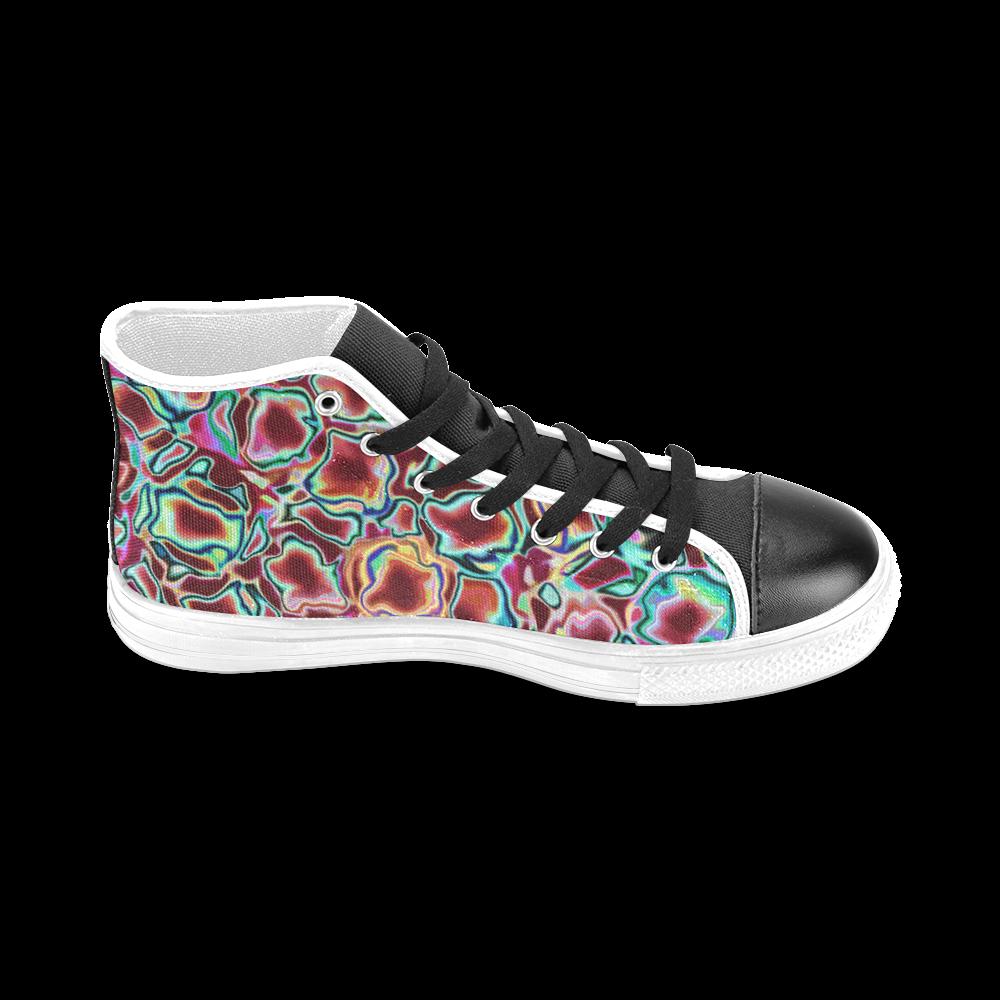 Blast-o-Blob #4 - Jera Nour Men's Classic High Top Canvas Shoes (Model 017)